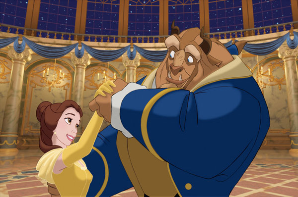 scene from Beauty and the Beast