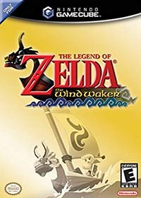 Nintendo Gamecube cover The Legend of Zelda: The Wind Waker