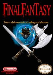 Final Fantasy NES game box cover