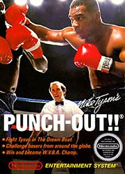 Mike Tyson's Punch-Out!! NES game box cover