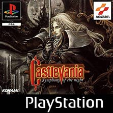 Castlevania: Symphony of the Night video game cover