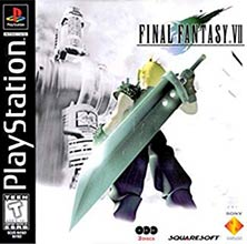 Final Fantasy VII video game cover