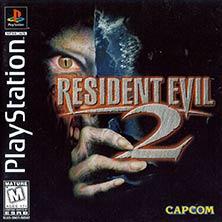 Resident Evil 2 video game cover