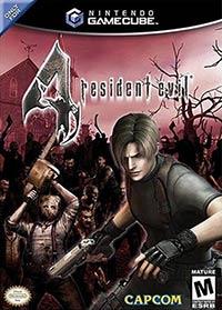 Nintendo Gamecube cover Resident Evil 4