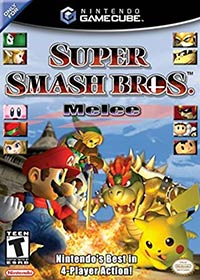 Nintendo Gamecube cover Super Smash Bros Melee