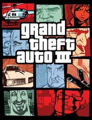 Grand Theft Auto III video game box cover