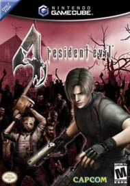 Resident Evil 4 video game box cover