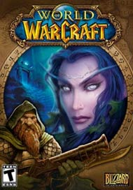 World of Warcraft video game box cover