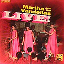 Martha and the Vandellas Live! album cover