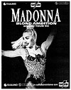 Madonna Blond Ambition World Tour poster