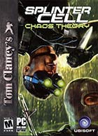 Tom Clancy's Splinter Cell: Chaos Theory - Xbox video game cover art