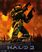 Halo 2 - Xbox video game cover art