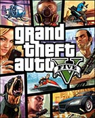 Grand Theft Auto V - Xbox 360 video game cover art