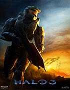Halo 3 - Xbox 360 video game cover art