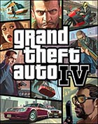 Grand Theft Auto IV - Xbox 360 video game cover art