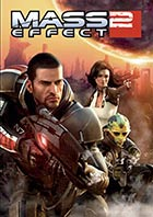Mass Effect 2 - Xbox 360 video game cover art