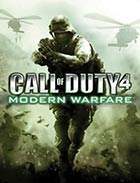 Call of Duty 4: Modern Warfare - Xbox 360 video game cover art