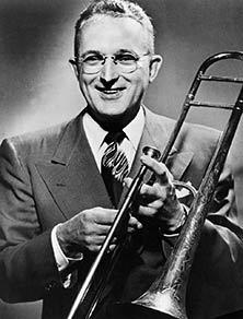 Jazz trombonist Tommy Dorsey