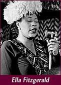 jazz singer Ella Fitzgerald
