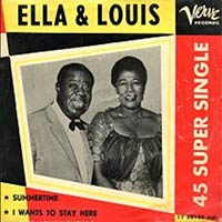 Summertime by Ella Fitzgerald record sleeve