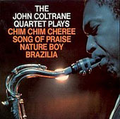 The John Coltrane Quartet Plays album cover