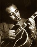 jazz guitarist Django Reinhardt