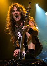 metal music bassist Steve Harris