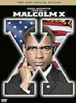Malcolm X movie DVD cover