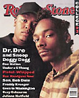 Rolling Stone magazine cover with Dr.Dre, Snoop Doggy Dogg