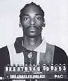 Snoop Doggy Dogg mug shot