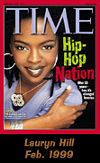 Time magazine cover featuring Lauryn Hill