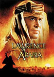 Lawrence of Arabia movie DVD cover
