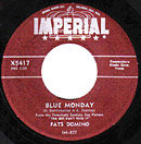 Blue Monday single lable