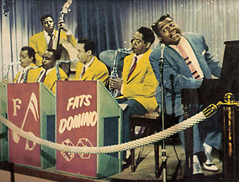 Fats Domino lobby card