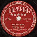 The Fat Man single lable