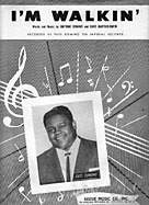 I'm Walkin' sheet music cover