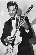 Chuck Berry with guitar 1