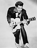 Chuck Berry with guitar 2