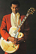 Chuck Berry with guitar 3