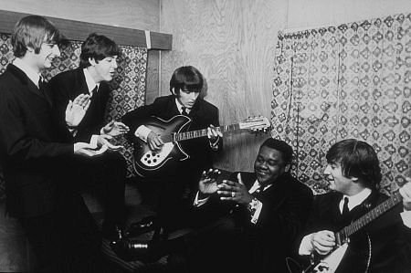 Fats Domino with the Beatles
