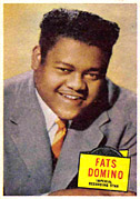 Fats Domino card