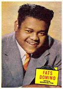 Fats Domino card