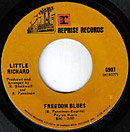 Freedom Blues single lable