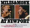 Miles and Monk at Newport album cover