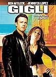 Gigli movie DVD cover