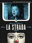 La Strada - movie DVD cover