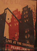 Live At the Showbox DVD cover