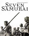 The Seven Samurai - movie DVD cover