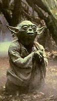 Yoda - Star Wars movie character