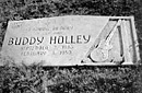 Buddy Holly tombstone